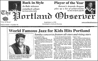 """World Famous Jazz for Kids Hits Portland"""