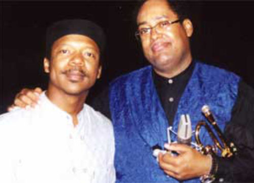 Jon Faddis and Kenney Polson