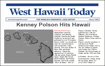 Kenney Polson hits Hawaii